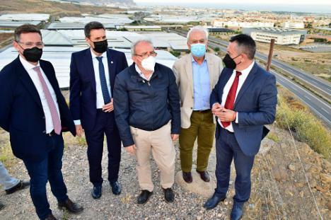 El Delegado Del Gobierno En Andalucía Avala Ante Carreteras El Nuevo Enlace De La Autovía De Vícar