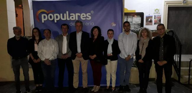 Antonio Fernández presenta el proyecto que liderará el cambio en Abla