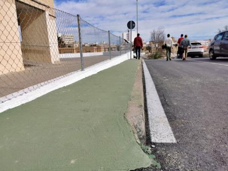 """Finaliza la remodelación en el """"barrio de las 80 viviendas"""" de Vera"""