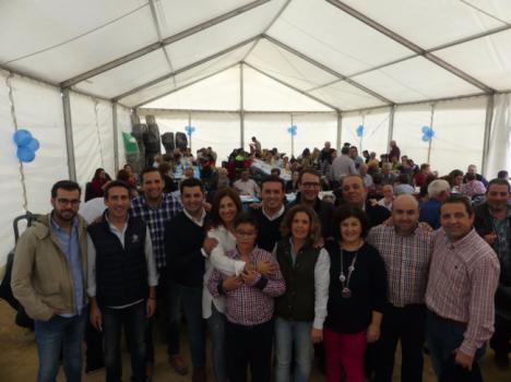 300 personas en la Convivencia organizada por el Partido Popular de Albox