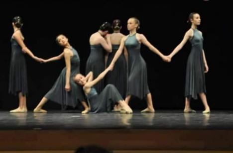 Alumnas de Vera acuden a Luxemburgo a un concurso europeo de danza