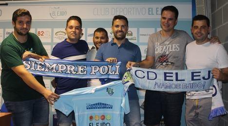El CD El Ejido llega a un acuerdo con Plataforma Nuestro Poli y Kolectivo 69