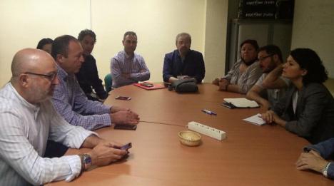 Adelante Andalucía traslada su apoyo a la plantilla de CEMEX