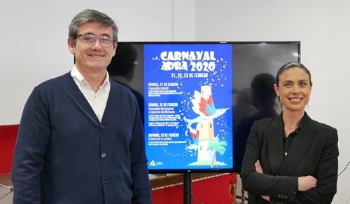 Adra está lista para recibir las Fiestas de Carnaval 2020