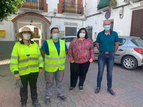 500.000 euros del PFEA llegan con Diputación a cuatro municipios del Almanzora