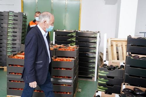 El alcalde de Roquetas agradece la solidaridad que está recibiendo el municipio