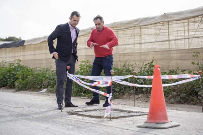 El Ayuntamiento aprueba las obras de mejora en el paraje del cortijo 'El Teniente'