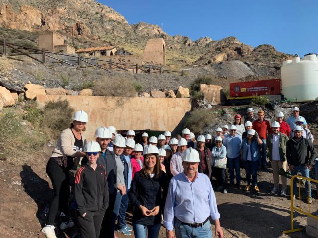 300 pulpileños visitarán la Mina Rica que alberga la Geoda Gigante