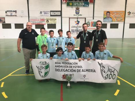El CD El Ejido brilla en la final de la Copa Diputación de Fútbol Sala
