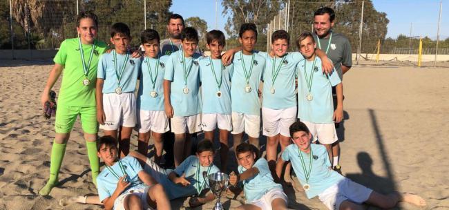 El Alevín de Fútbol del CD El Ejido jugará el Campeonato Andaluz de Fútbol Playa