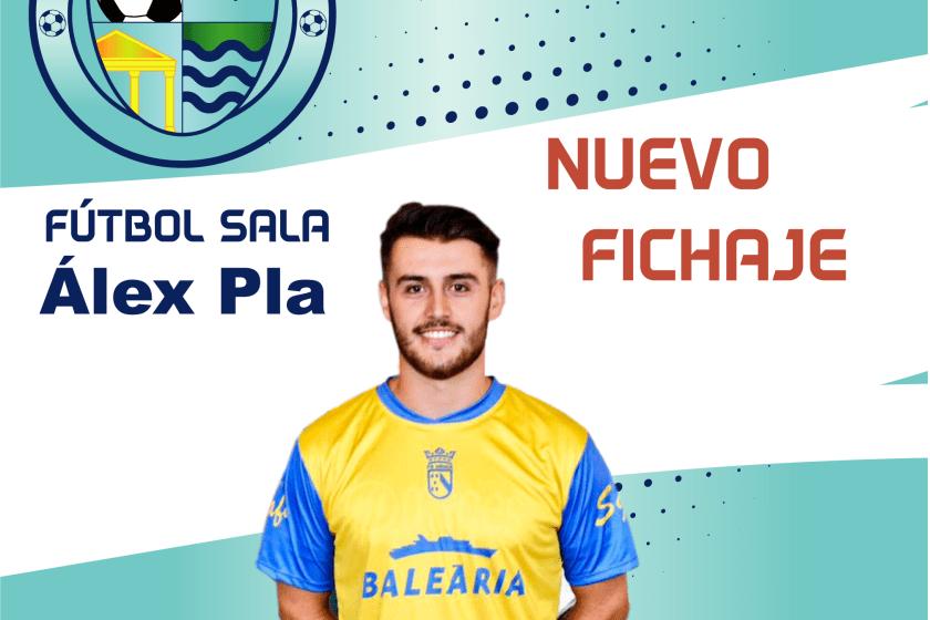 Álex Pla, segundo fichaje del primer equipo de Fútbol Sala del CD El Ejido