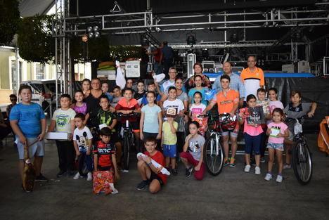 """La """"ruta en bici"""", gran acontecimiento ciclista de la Feria de Gádor"""