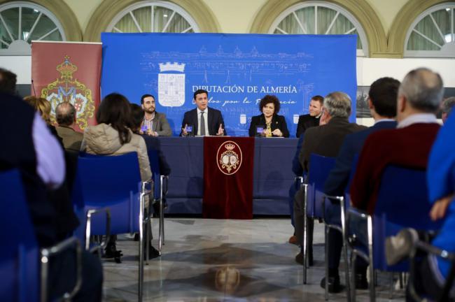 Diputación se sumerge en el espíritu de la Semana Santa con la presentación de 'Almería cofrade'