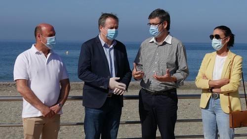 La Junta destaca la costa de Almería como destino seguro y de calidad
