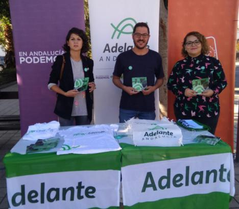 Adelante Andalucía culpa a Susana Díaz del paro en Almería