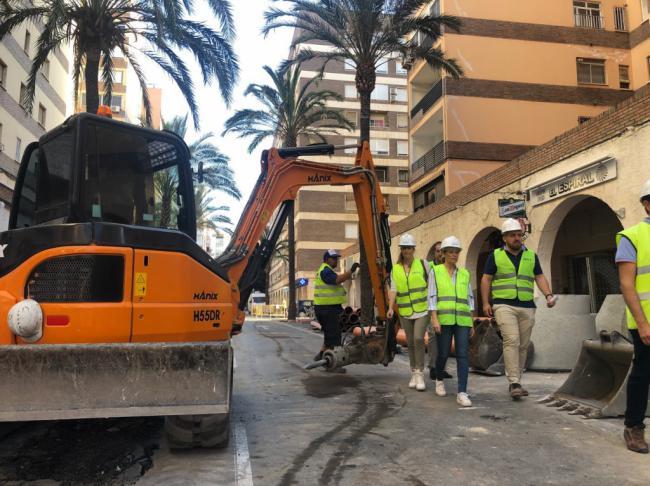 Martínez Labella afirma que no se elimina ni un solo árbol en Artes de Arcos