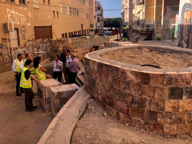 Las obras de la calle Guadarrama cumplen plazos y encaran su recta final