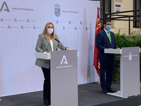 Los Gobiernos de Andalucía y Murcia reclaman mayor agilidad en el Corredor Mediterráneo