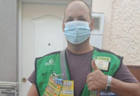 Un vecino de Almería gana un Sueldazo de la ONCE
