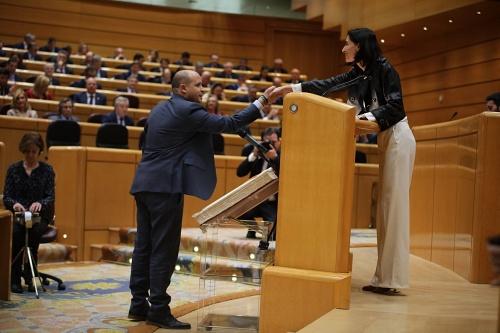 Antonio Martínez adquiere su condición plena de senador