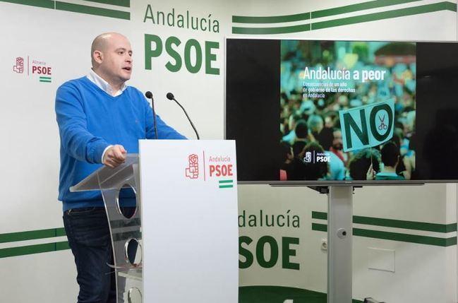 El PSOE reivindica los valores del 28F frente al deterioro de la autonomía