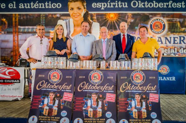 Inaugurada la sexta Oktoberfest de Roquetas