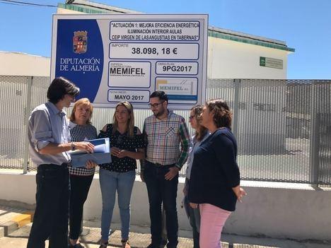 Diputación invertirá 200.000 € en modernizar el 80% del alumbrado público de Alboloduy