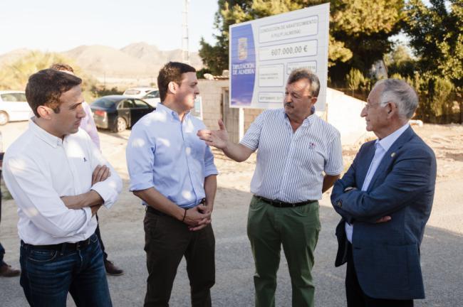 Pulpí recibe 675.000 euros de la Diputación para garantizar el agua en sus barriadas