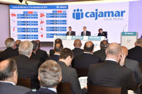 Cajamar aumenta su cuenta de resultados un 30%