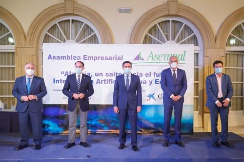 El presidente de Diptuación dice a los empresarios que el #COVID19 ha evidenciado el carácter competitivo de los almerienses