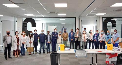 Asempal, Junta de Andalucía y Grupo Cosentino unen fuerzas para vacunar en empresas