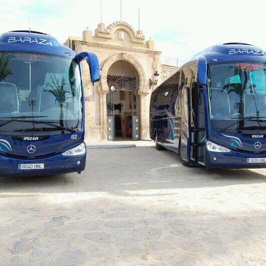 Refuerzo en el servicio de autobuses de Vera durante el verano