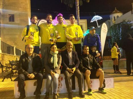 230 atletas recorren Vera en la IV carrera Urbana de Navidad