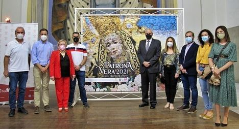 Fotos de cientos de veratenses protagonizan el cartel de sus Fiestas Patronales