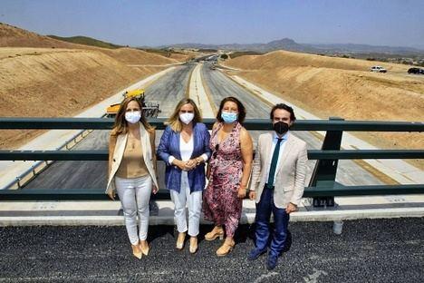 La Junta inicia las obras del tramo que conecta la Autovía del Almanzora con la del Mediterráneo