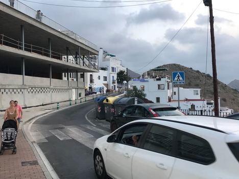 Diputación y Mojácar ultiman los detalles de la obra que transformará la principal avenida del pueblo