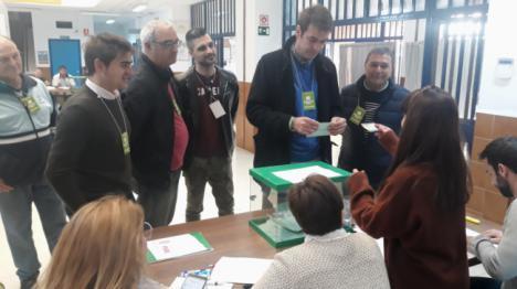 "Joaquín Bellido anima a votar ""pensando en los problemas de Andalucía"
