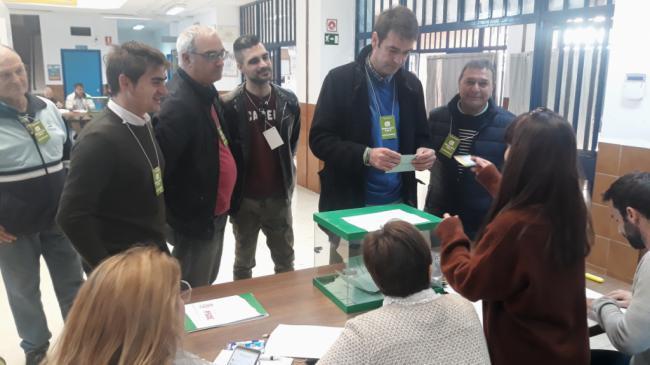 "Joaquín Bellido anima a votar ""pensando en los problemas de Andalucía'"
