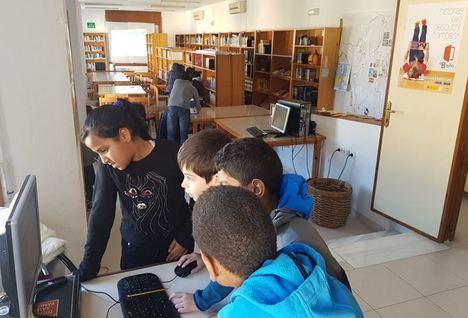 El CEIP Virgen De La Paz inicia la visita a bibliotecas de Vícar
