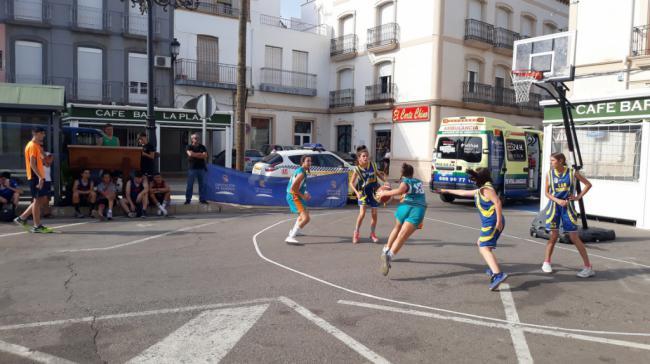 Vera acoge el quinto encuentro del Circuito Provincial de Baloncesto 3x3 'Costa de Almería'