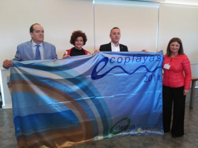 El Ejido consigue la bandera de ECOPLAYAS para Balerma y renueva la de Poniente