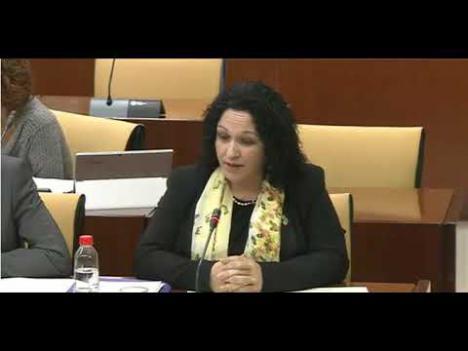 Belinda Rodríguez es incapaz de justificar la financiación de Vox