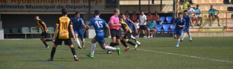 Derrota del Berja en Estepona de penalti y con muchas ausencias