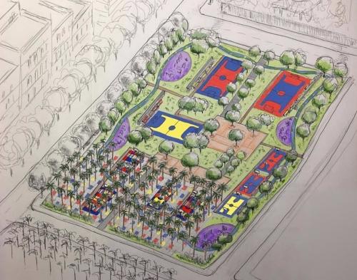 El Ayuntamiento licita el proyecto de una nueva zona deportiva tras el Maestro Padilla
