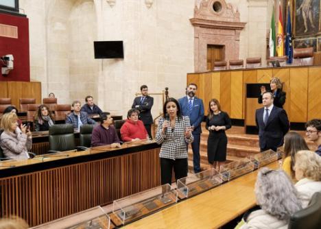El Coro Infantil de Adra interpretará el himno andaluz en el Parlamento el 28F