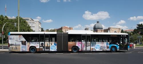 """Vera se promociona como """"destino de confianza"""" en los autobuses de Madrid"""