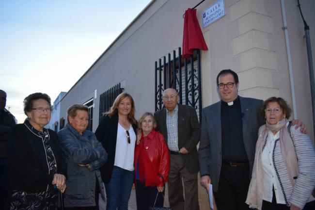 El Beato Ginés Céspedes cuenta con una calle en Fernán Pérez