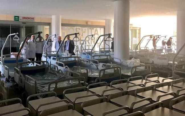 Instaladas las primeras 65 camas del Materno-Infantil