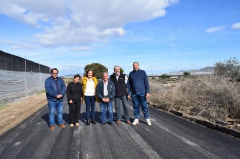 Finalizada la adecuación del camino de Balsa Seca con fondos propios del Ayuntamiento de Níjar