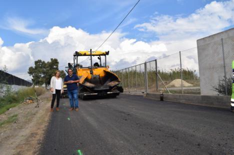 El Ayuntamiento de Níjar acomete la adecuación de caminos rurales con fondos propios